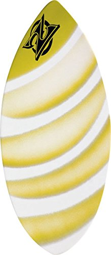 Zap Wedge Large Skimboard - 49x19.75 Assorted Yellow ()
