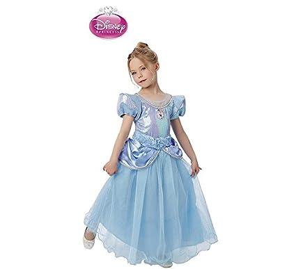 Disney Princesas Disfraz infantil Cenicienta Premium, M (Rubies Spain 620470-M)