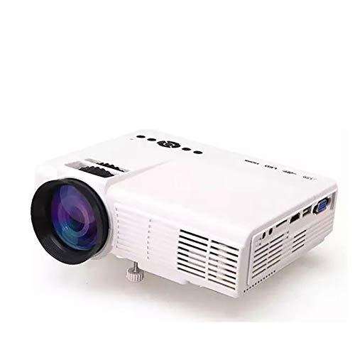 HLKYB Smart Mini Projector, Portable Video Projector 1080P Support 1000 lumens 130″Screen USB/AV/AV/HDMI/VGA Input,whiteWIFIAndroid