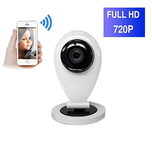 ShengyaoHul 720P HD Indoor Monitor Video Per Bambini, 1 Mp Sistema Di Telecamera Di Sorveglianza Ip / Allarme Video / Visione Notturna A Infrarossi / Allarme Video Telecamere Di Sorveglianza Per La Ca