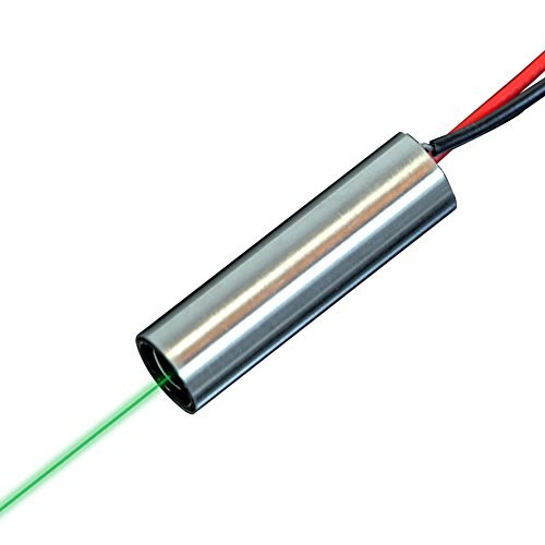 Quarton Direct Green Laser Module VLM-520-52 LPT (Non-DPSS Green Dot Laser Module: Operating Temperature Range : -4 °F ~ 140 °F)