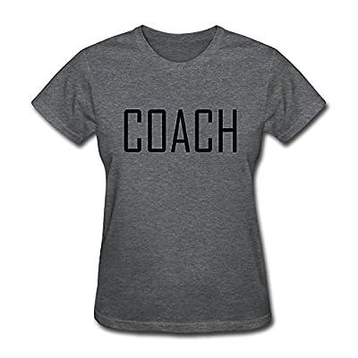 Keke Women's Tshirt Coach Size XL DeepHeather