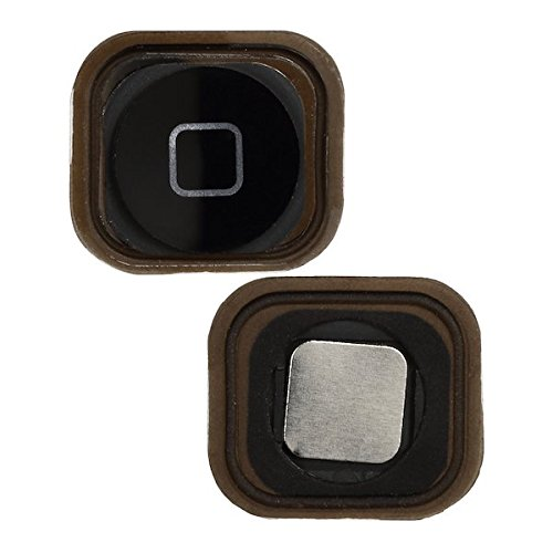 BisLinks® New Black Menu Home Button With Spacer For Apple iPod Touch 5 5th Generation