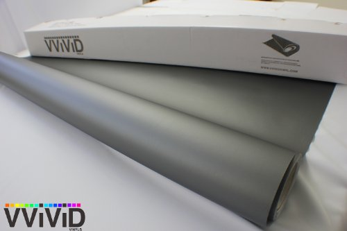 VViViD Matte Charcoal 5ft x 30ft Vinyl Wrap Roll with Air Release Technology