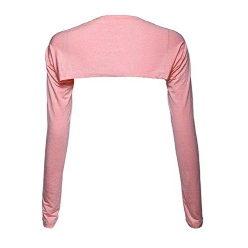 YEESAM Bolero Shrug Womens Long Sleeved Bolero-Style Arm Sleeves - Hijab Accessories (Khaki)