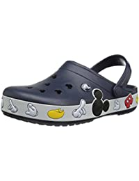 Unisex Crocband Mickey Clog Mule