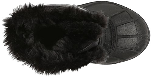 Sorel Unisex-Kinder Childrens Snow Commander Schneestiefel Schwarz (Black, Charcoal 010)