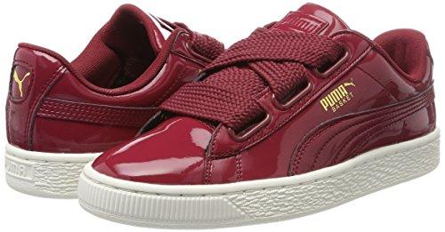 Patent Heart Da Basket Red Ginnastica Donna Basse Rosso Scarpe Wn's tibetan Puma qOwE5