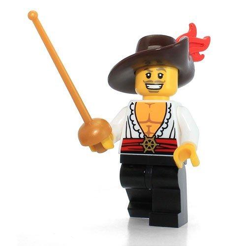 LEGO Series 12 Collectible Minifigure 71007 - Swashbuckler (Musketeer Lego)