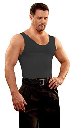 Camiseta Faja Hombre 2x1 M/34 Negro KISHA
