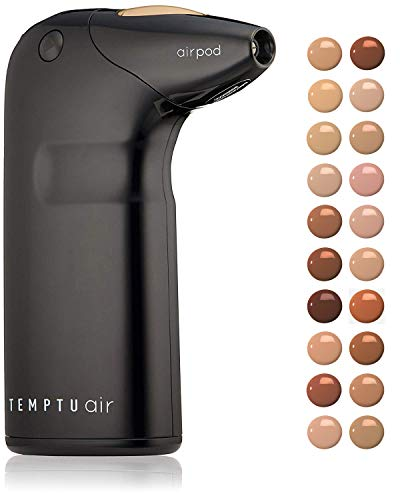 Temptu Air Perfect Canvas Airbrush Starter Kit: Cordless Professional Airbrush Makeup System, 4.5 Bisque Shade, 8ml ()