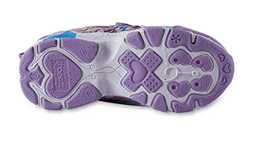 Disney Toddler Girls' Doc McStuffins Purple Light-Up Athletic Shoe (8 US Girls M Toddler) -