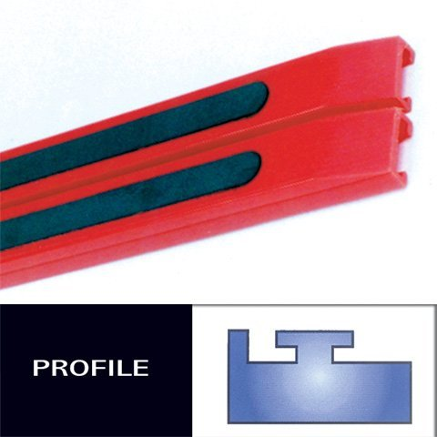 HYPERFAX POLARIS RED 49 1/2'' PROFILE #11, Manufacturer: HYPERFAX, Manufacturer Part Number: 51-AD, Stock Photo - Actual parts may vary.