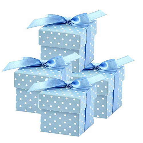 50 Pack Blue Polka Dot 2
