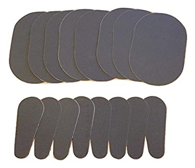 16 (8 Pairs) Smooth Away Refill Pads for Smooth Legs Hair Remover, Bundle of 16 Pads (8 Pairs) , 8 Large 8 Small