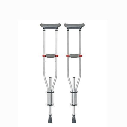 Muleta Axilar Adulto Aluminio Andador de Rehabilitación de ...