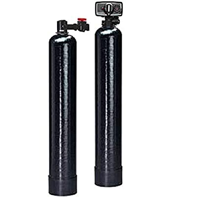 Premier Whole House Salt-Free Water Softener/Conditioner 20 GPM and Backwash Carbon Filtration System w/KDF55