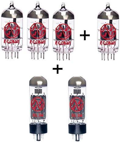 Replacement Valve Kit for Marshall JCM900 SL-X 50W 3 x ECC83 1 x Balanced ECC83 2 x Matched EL34