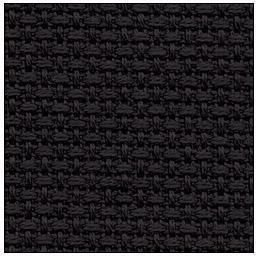 59 X 36 Black 11 Counted Cotton Aida Cloth Cross Stitch Fabric happykatehehe