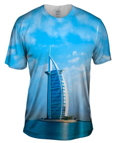 Yizzam- Burj Al Arab Dubai -Tagless- Mens Shirt-2X