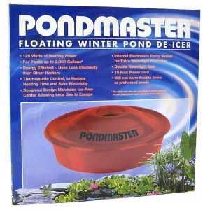 Floating Winter Pond De Icer - Pondmaster Floating Winter Pond De-Icer Garden, Lawn, Supply, Maintenance