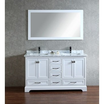 Stufurhome 60 Inch Double Bathroom Vanity Basic Info