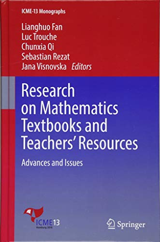 Research on Mathematics Textbooks and Teachers' Resources: Advances and Issues