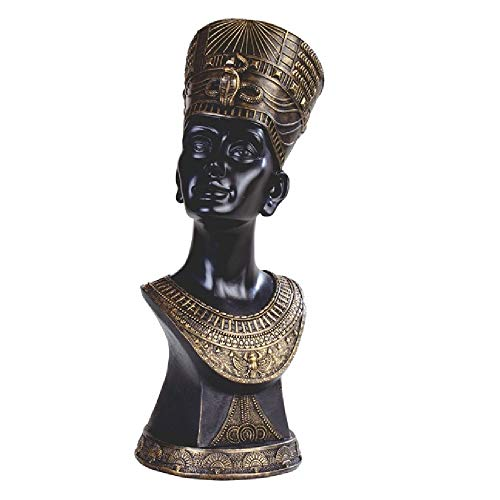 George S Chen Corporation Egyptian Queen Nefertiti Bust Figurine ()
