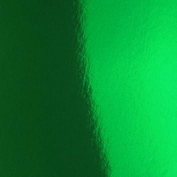 Green 12-Inch by 12-Inch HYGLOSS 28432 10 Mirror Board Sheets