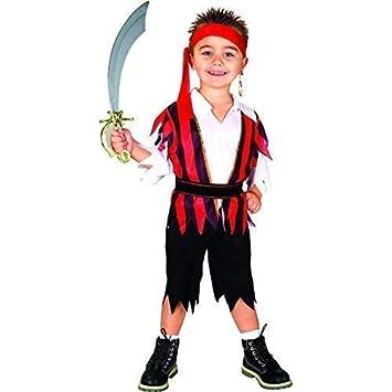 Amazon.com: Bodysocks Pirate of The Seven Seas Boys Costume ...