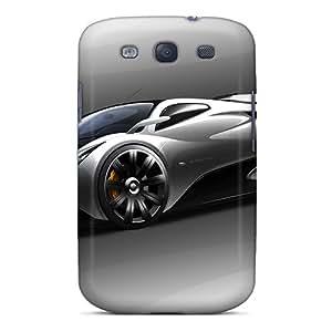 JamesRGy Premium Protective Hard Case For Galaxy S3- Nice Design - Pagani Titan V2