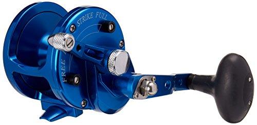 Avet Reel Trolling (AVET 6.0:1 Lever Drag Conventional Reel, Blue, 500 yd/25 lb)