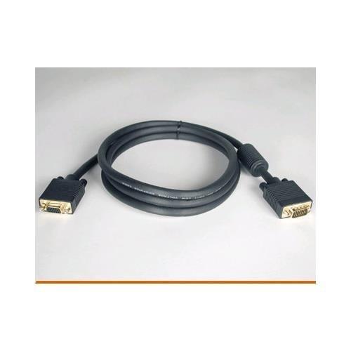 TRIPP LITE 6ft svga/vga monitor extension hddb15(f) to hddb15(m) gold w/rgb coax (Gold Hddb15 M Monitor)