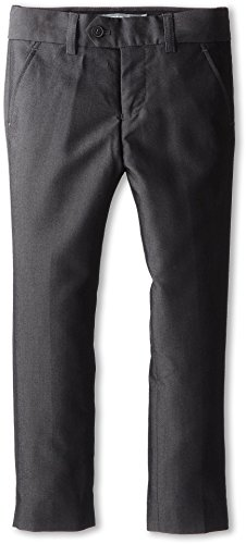Mod Suit Trousers (Appaman Boy's Mod Suit Pants Vintage Black, Vintage Black, 4)