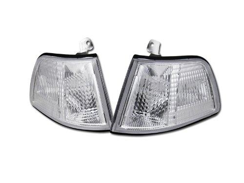 Civic 91 Corner Honda Light (HS Power Crystal Clear Lens Signal Parking Corner Lights Lamps 90-91 For Honda Civic 2D/3D HB)