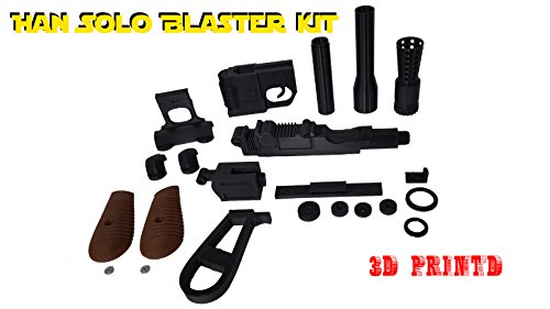 3D Cauldron Han Solo Blaster Kit ( Not An Official Star Wars Blaster ) (Blaster Only)