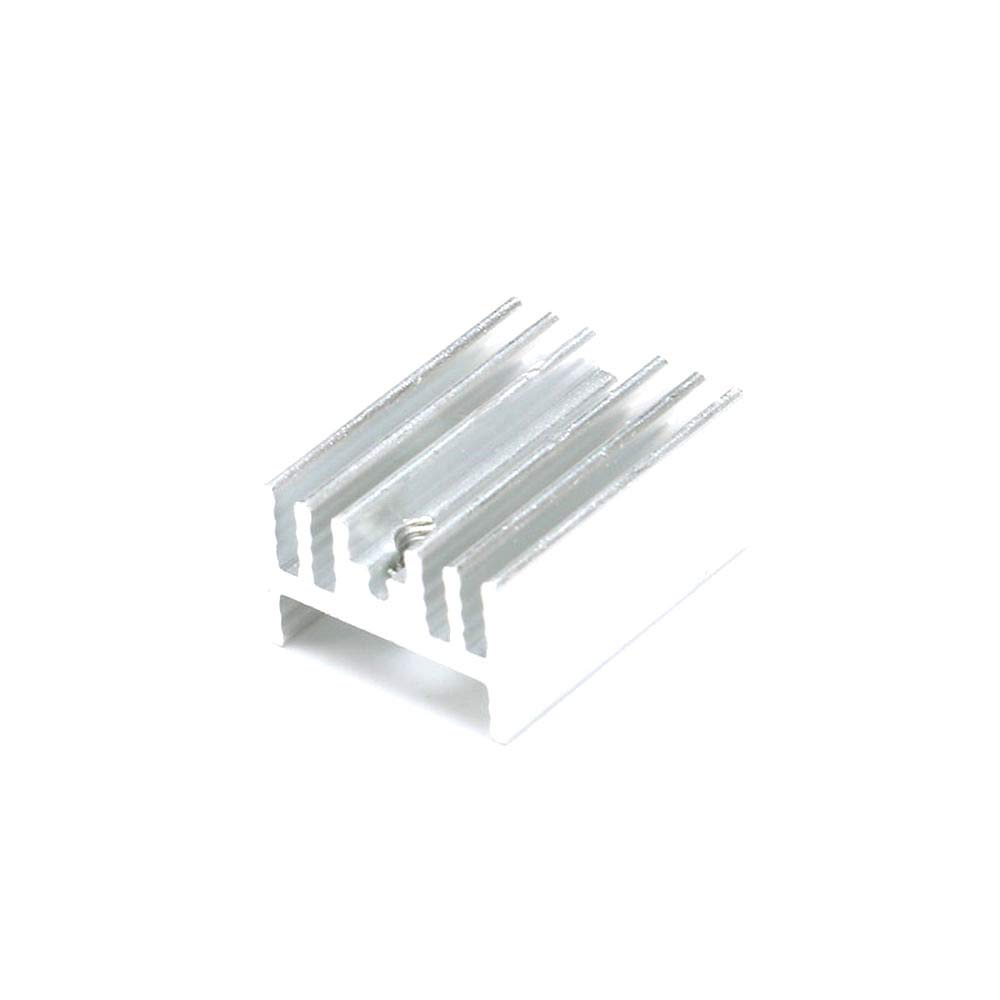 DIYElectronic 5 pcs 211510mm Heatsink Cooling Fin Radiator Cooler Aluminum Heat Sink for TO3 to-3 Transistor 21X15X10mm