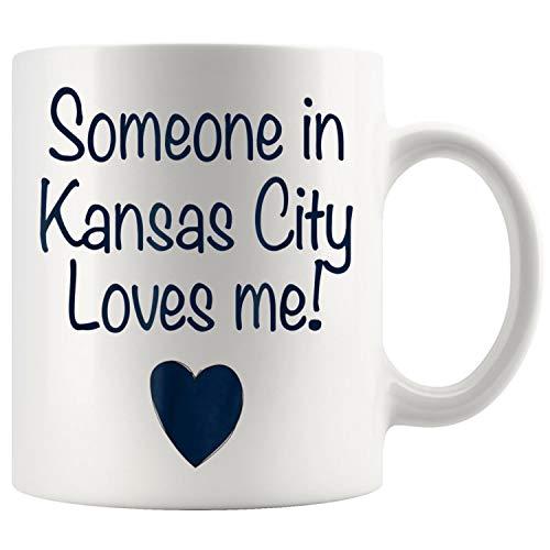 Someone in Kansas City Loves Me Mug Coffee Mug 11oz Gift Tea Cups 11oz