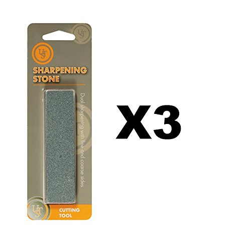 Ultimate Survival Technologies Sharpening Stone Fine & Coarse Sharpener ()