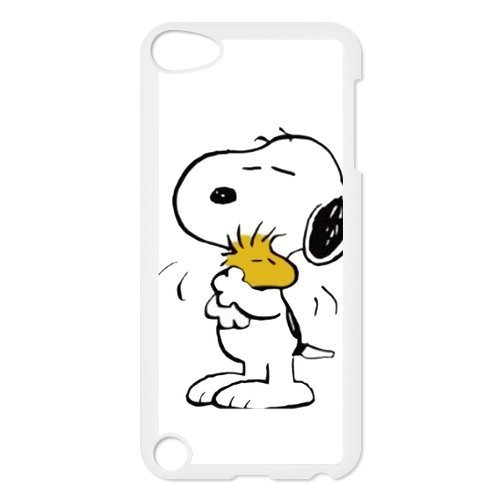 iPod Touch 5/5th Generation case,Plastic Snoopy Cover Shell Hard Back Case for Apple iPod Touch 5,Snoopy Silicone Case Cover for iPod Touch 5 5G 5th Generation ()