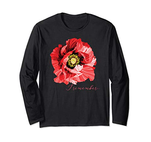 Veterans Day gift, Flanders field, the red poppy, remember
