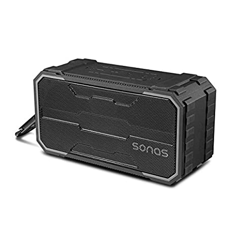- 411Qmc1QLyL - Sonas Sounds Traveler Portable Outdoor Wireless IPX6 Waterproof Bluetooth Speaker