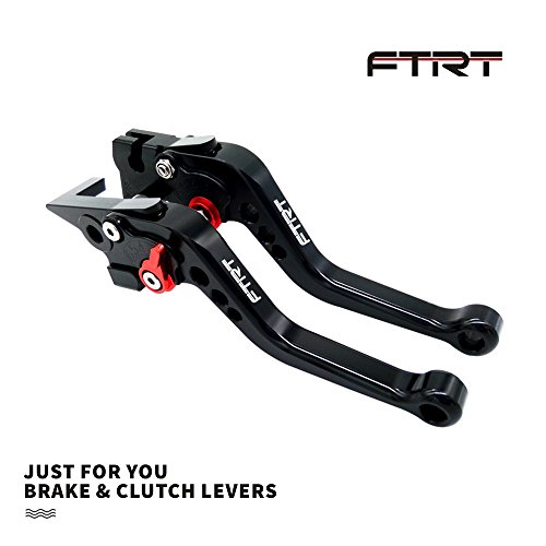 1994 1997 Cbr - FTRT Short Brake Clutch Levers for Honda CBR600 F2,F3,F4,F4i 1991-2007, SHADOW750 1997-2004, CB599/CB600 HORNET 1998-2006,CB400 2014, CB900 Hornet 2002-2006,NC700 S/X 2012-2013 Black