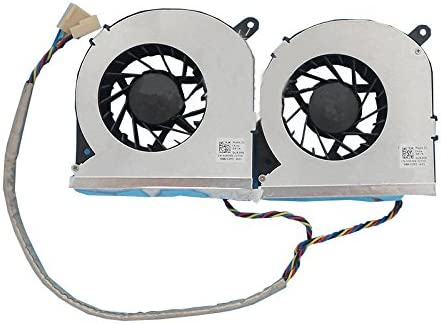 U939R CN-0U939R 4-Wire 4-pin 5V Z-one Fan Replacement for Dell Inspiron One 19 Vostro 320 Series CPU Cooling Fan
