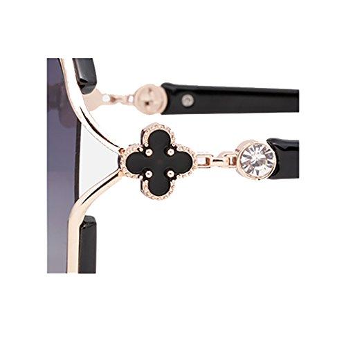 Polarized Couleur D YGyanjing Classics Lunettes Lady de Chaude Lunettes Soleil Soleil Protection Mode Oversized 100 de Lunettes UV B U1H1BXq