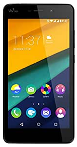 Wiko Pulp FAB - Smartphone (Android, 4G, 16GB, dual SIM, MicroSIM, EDGE, GPRS, GSM, WCDMA), color negro
