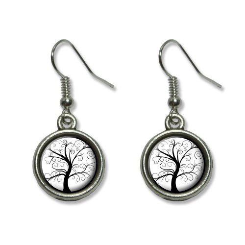 [Graphics and More Starry Night by Vincent Van Gogh Novelty Dangling Dangle Drop Charm Earrings] (Vincent Van Gogh Starry Night Costume)