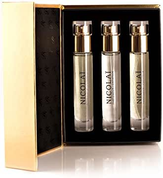 Parfums de Nicolai Collection Eau Fraiche, 3 x 15 ml