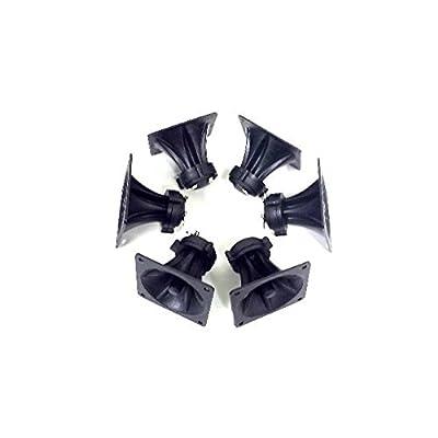 "3 Pair of 3.25"" x 3.25"" Piezo Tweeter Element DJ Speaker Car Audio Square Single Super Horn NTX-1004PZ"