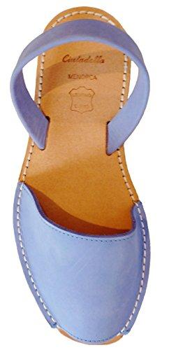 MENORQUINAS Clogs cielo BEIGE 2 verschiedene Avarcas Ferse beige Farben menorcan Azul cm Sandalen plataforma mit 5 Sandalen nobuck Keil OqOrZxAwBn